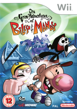 The Grim Adventures of Billy & Mandy Wii cover (RGMP5D)