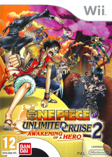 One Piece Unlimited Cruise 2: Awakening of a Hero Wii cover (RIUPAF)