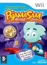 Pajama Sam: No Need to Hide when it's Dark Outside Wii cover (RJQP70)