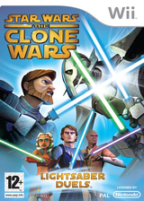Star Wars The Clone Wars: Lightsaber Duels Wii cover (RLFP64)