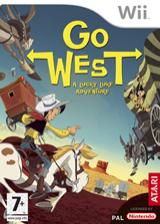 Go West: A Lucky Luke Adventure Wii cover (RLLP70)
