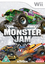 Monster Jam Wii cover (RMOP52)