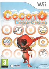 Cocoto Magic Circus Wii cover (RMRXNK)