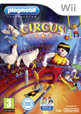 Playmobil: Circus Wii cover (ROVPHM)
