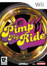Pimp My Ride Wii cover (RPIP52)
