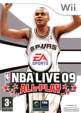 NBA Live 09 All-Play Wii cover (RQ9F69)