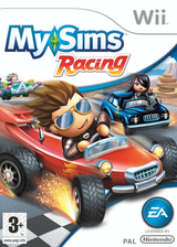 MySims Racing Wii cover (RQGP69)