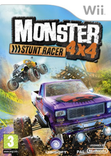 Monster 4x4: Stunt Racer Wii cover (RQZP41)