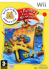 Build-A-Bear Workshop:A Friend Fur All Seasons Wii cover (RR4PFK)