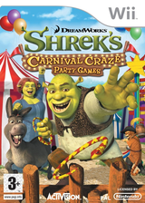 Shrek's Carnival Craze Party Games Wii cover (RRQX52)