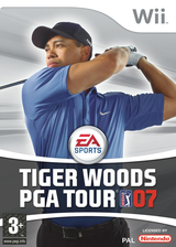 Tiger Woods PGA Tour 07 Wii cover (RT7F69)