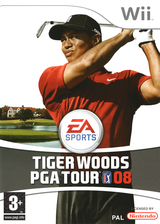 Tiger Woods PGA Tour 08 Wii cover (RT8P69)