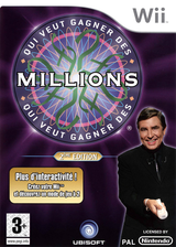 Who Wants To Be A Millionaire: 2nd Edition Wii cover (RW5F41)