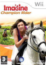 Imagine Champion Rider Wii cover (RW8P41)