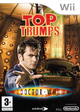Top Trumps: Doctor Who Wii cover (RWHP4F)