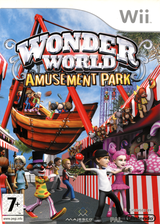 Wonder World Amusement Park Wii cover (RWZX5G)