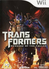 Transformers: Revenge of the Fallen Wii cover (RXIP52)