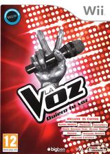 La Voz: Quiero tu voz Wii cover (S32SJW)