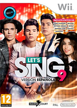 Let's Sing 9 - Spanish Version Wii cover (S33SKM)