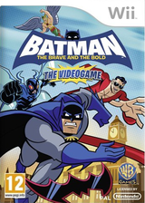 Batman: The Brave and the Bold Wii cover (S3BPWR)