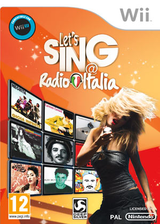 Let's Sing @ Radio Italia Wii cover (S7LPKM)