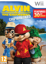 Alvin and the Chipmunks: Chipwrecked Wii cover (SA3P5G)