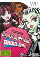 Monster High:Ghoul Spirit Wii cover (SAOXVZ)