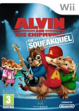 Alvin and the Chipmunks: The Squeakquel Wii cover (SAVX5G)