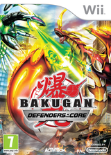 Bakugan: Defenders of the Core Wii cover (SB6P52)