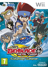 Beyblade: Metal Fusion - Counter Leone Wii cover (SBBP18)