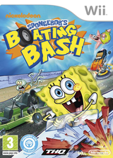 SpongeBob's Boating Bash Wii cover (SBVS78)