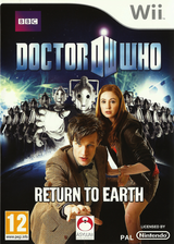 Doctor Who: Return To Earth Wii cover (SDOPLR)