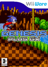 Genplus GX Homebrew cover (SEGA)