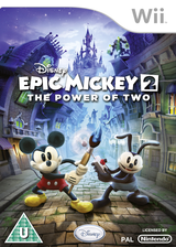 Disney Epic Mickey 2: The Power of Two Wii cover (SERF4Q)