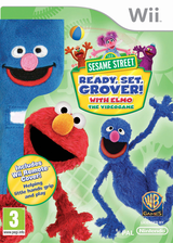 Sesame Street: Ready, Set, Grover! Wii cover (SESPWR)