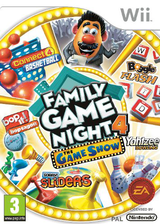 Hasbro: Family Game Night 4 - The Game Show Wii cover (SFGP69)