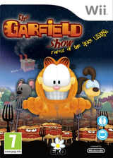 The Garfield Show: Threat of the Space Lasagna Wii cover (SG7PVL)