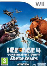 Ice Age 4: Continental Drift - Artic Games Wii cover (SIAP52)