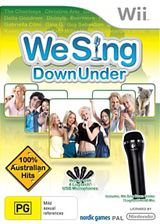 We Sing Down Under Wii cover (SIUUNG)