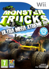 Monster Trucks: Ultra Mega Xtreme!!!  Wii cover (SM4PXT)