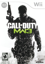 Call of Duty: Modern Warfare 3 Wii cover (SM8X52)
