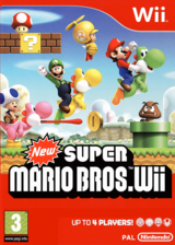 New Super Mario Bros. Wii Wii cover (SMNP01)