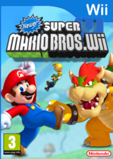 Newer Super Mario Bros. Wii U CUSTOM cover (SMNP40)