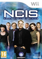 NCIS: The Game Wii cover (SNBP41)