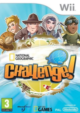 National Geographic Challenge! Wii cover (SNQPLG)