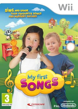 My First Songs Wii cover (SONPMR)