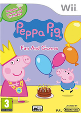Peppa Pig: Fun & Games Wii cover (SPGPPN)