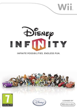 Disney Infinity Wii cover (SQIP4Q)