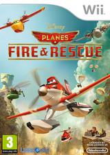 Disney Planes: Fire & Rescue Wii cover (SQQPVZ)