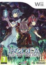 Rodea the Sky Soldier Wii cover (SROPNS)